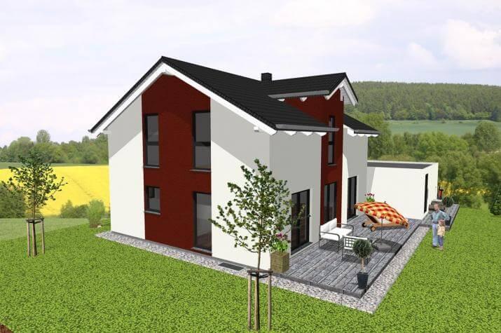 ...individuell geplant ! - Klassisches Einfamilienhaus mit modernen Details - www.jk-traumhaus.de -