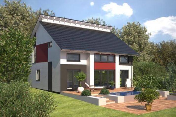 ...individuell geplant ! - Markantes Architektenhaus mit versetztem Pultdach - www.jk-traumhaus.de - Vorschau