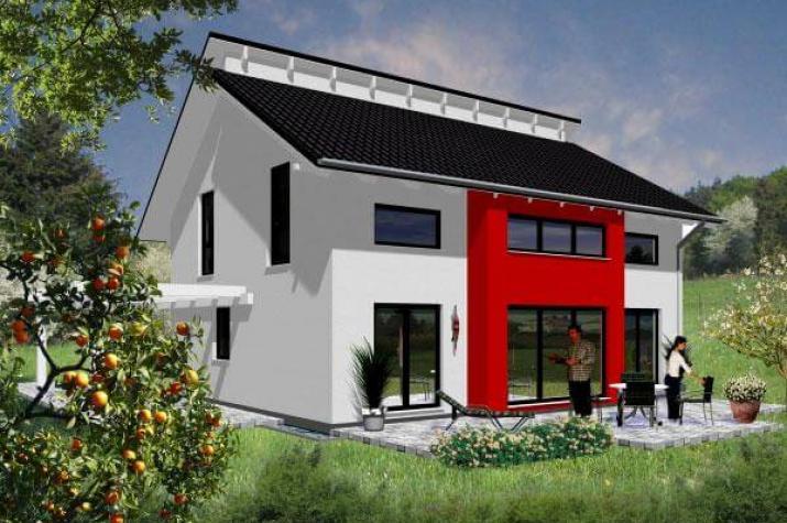 ...individuell geplant ! - Markantes Architektenhaus mit versetztem Pultdach - www.jk-traumhaus.de - grundriss ke
