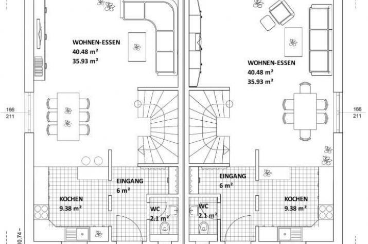 ...individuell geplant ! - Mediterranes Flair und stilvolles Wohngefühl für zwei - www.jk-traumhaus.de - Grundriss EG