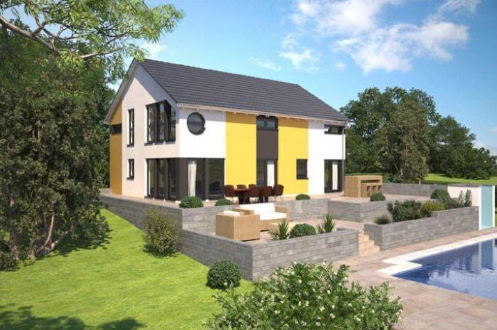...individuell geplant ! - Moderne Architektur für zwei - www.jk-traumhaus.de -