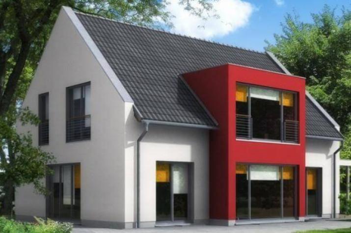 ...individuell geplant ! - Modernes Einfamilienhaus mit interessantem Erker - www.jk-traumhaus.de -