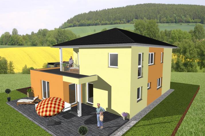 ...individuell geplant ! - Stadtvilla mit Gewerbeanteil - www.jk-traumhaus.de -