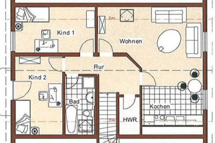 ...individuell geplant ! - Zweifamilienhaus - auch mit Gewerbeeinheit möglich - www.jk-traumhaus.de - grundriss dg