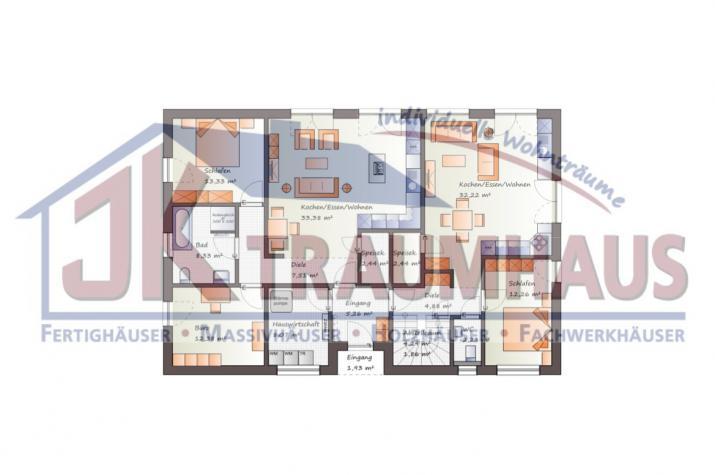 ...individuell geplant ! -Generationshaus mit Dachterrasse - www.jk-traumhaus.de - Grundriss EG