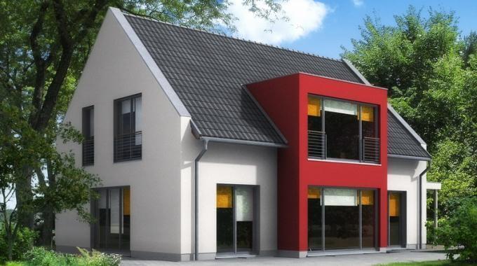 Modernes einfamilienhaus mit interessantem erker www jk traumhaus de